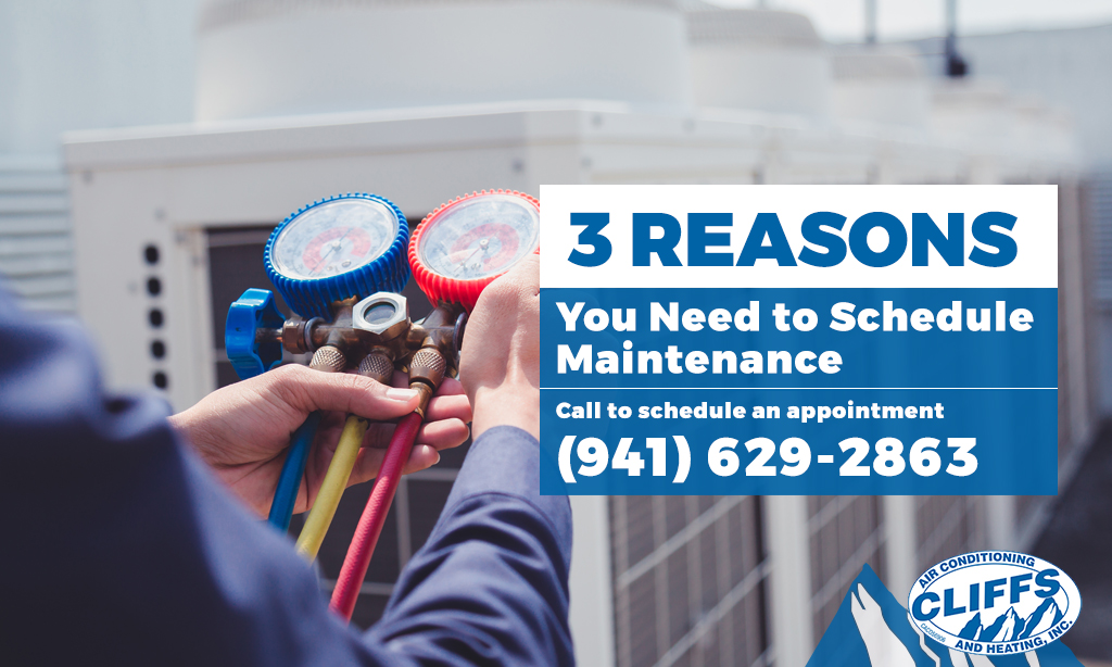 3 Reasons You Need to Schedule Air Conditioning Maintenance Soon