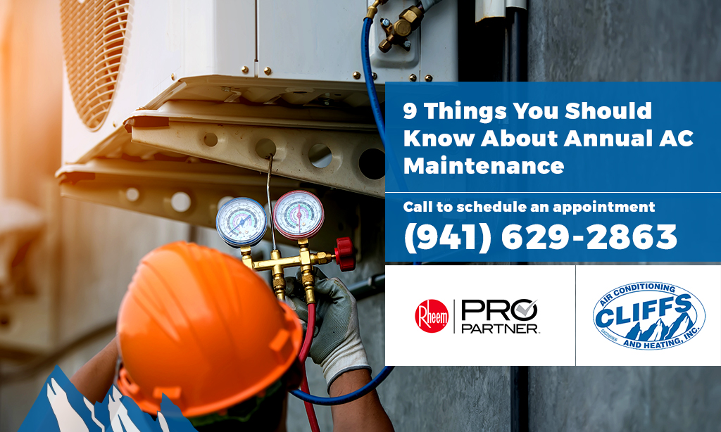 9 Things You Should Know About Annual AC Maintenance