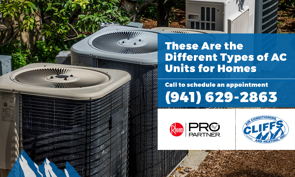 types of ac units for homes