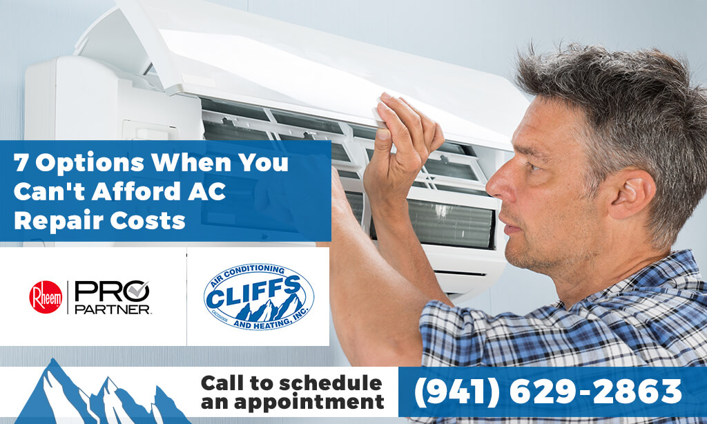 7 Options When You Can't Afford AC Repair Costs
