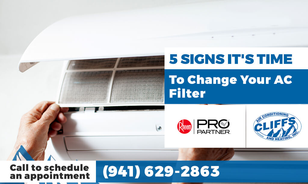5 Signs It's Time to Change Your AC Filter
