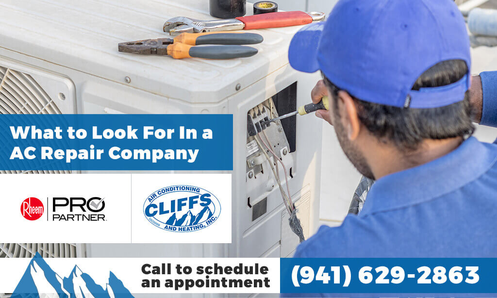 What to Look For In a AC Repair Company