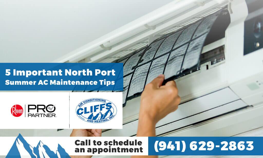 5 Important North Port Summer AC Maintenance Tips