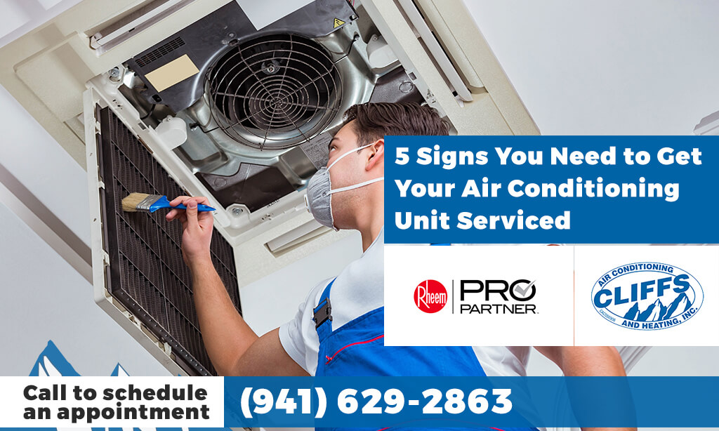(North Port, FL) 5 Signs You Need to Get Your Air Conditioning Unit Serviced